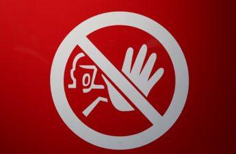 stop skilt